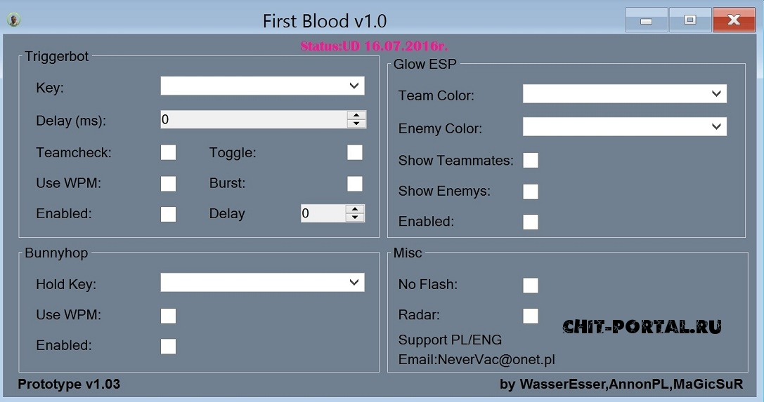 MultiHack First Blood v1.0