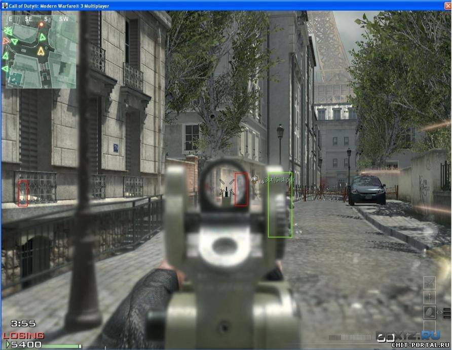 CoD MW3 External wall & aim v1.4.8