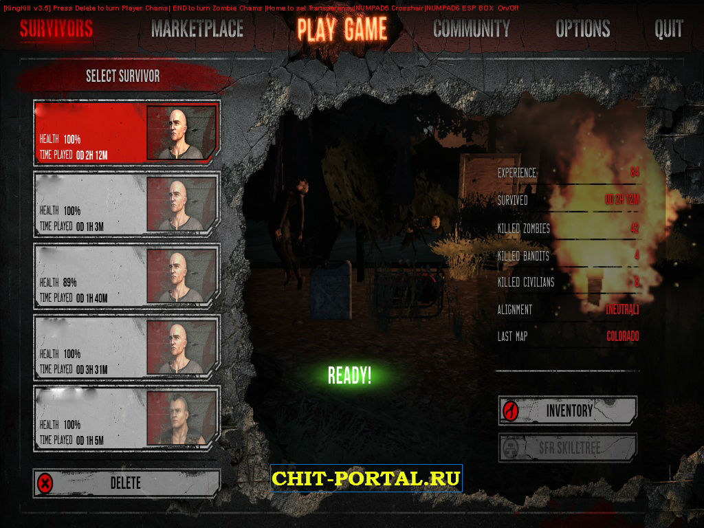 KingKill v4 iPlayWarZ Hack